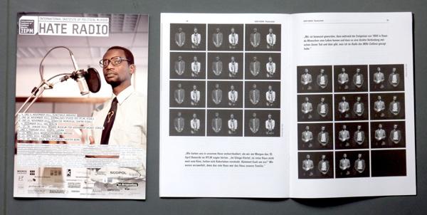 Das Hate-Radio-Programm: 46-Seiten-Magazin mit umfassendem Hintergrund zum Genozidi in Ruanda. Foto: Gudrun Pawelke